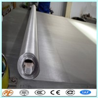 200 Mesh Twill Weave Stainless Steel Wire Mesh