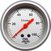 Utrema Mechanical Oil Pressure Gauge 2-5/8""