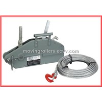 Wire rope pulling winches price list and pictures