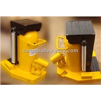 hydraulic toe jack operating principle