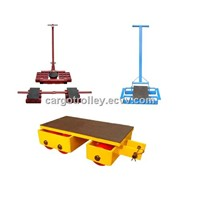 machinery skates moving heavy duty load easily