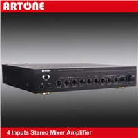 4 Audio Switchable 60W PA System Mixer Amplifier KPA-60E