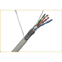 Cat.5 4prs double shielded cable (SFTP) passed UL certificate