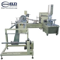 Automatic PVC and PET cylinder forming machine