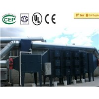 electrostatic industry oil mist collector for PU/PVC artificial leather line