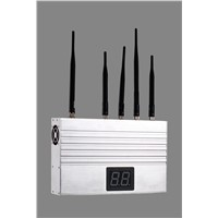 remote monitoring cell phone jammer