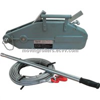 Wire rope pulling winches instruction and price list
