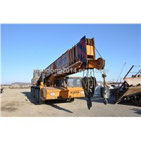 80Ton used heavy equipment used crane for sale