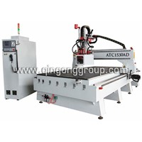 Auto Tool Changer CNC Center for wood working
