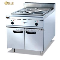 Freestanding electric bain marie with cabinet BY-EH884