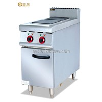 Free standing electric range with 2 cookers BY-EH877