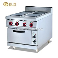 Free standing electric range with 4 cookers and electric oven BY-EH887A