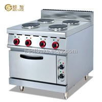 Free standing electric range with 4 cookers and electric oven BY-EH887B