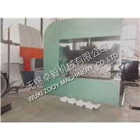 Hydraulic Curving Machine, Driven By Servo Motor, Curving By Hydraulic Pressing