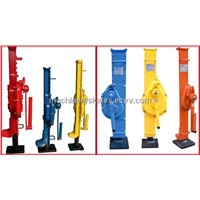 Revolving toe jack with lower toe which also named hydraulic toe jack