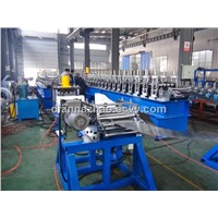 metal door frame roll former making machine with hinge hole
