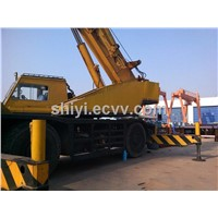 used 50t kato rough terrain crane KR450H original from japan