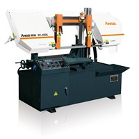 Semi-automatic double column horizontal cutting machine