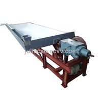 Gold ore shaking table concentrator