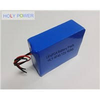 12V 40Ah LiFePO4 Battery Pack HLY-4F40