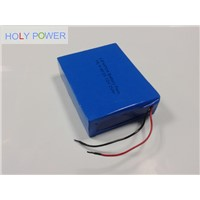 24V 25Ah LiFePO4 Battery Pack HLY-8F25