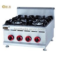 Stainless Steel Counter Top Gas Range/Gas Cooker(4 burners) BY-GH587