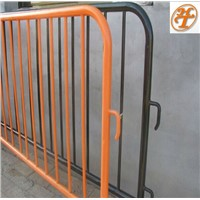 Metal Galvanized or Powder coated crowd control barrier trraffic control fence