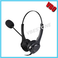 Professional Call Center Noise Cancelling Telephone Headset