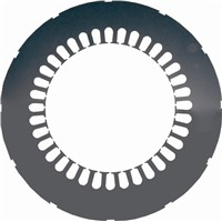 stator lamination for high-voltage motor
