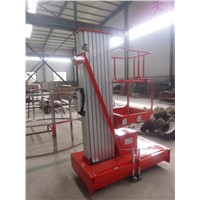 Single Mast Aluminium Work Lift Table