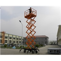 Movable Hydraulic Scissor Lift Table