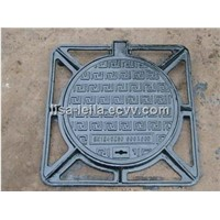 DUCTLE IRON MANHOLE COVER