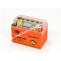 OUTDO Motorcycle DS-iGEL Battery / Orange DS-IGEL Battery / DS-iGEL battery 12N7BL-BS(DS)