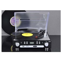 Cassette & Radio & Turntable player & USB/SD Converter