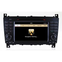 "7"" inch car dvd navigation payer for Benz C class W203 stereo multimedia navigation with radio"