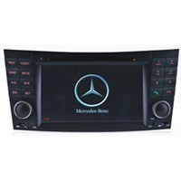 7inch touch screen auto dvd payer for Benz E Class W211stereo multimedia navigation with radio