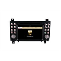 "7"" inch touch screen car dvd payer for Benz SLK stereo multimedia navigation with radio"
