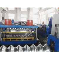 Automatic 22KW Silo Corrugated Roll Forming Machine line G345 - 450MPA
