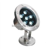 DC24V / DC12V / AC220V IP68 Outdoor waterproof 6w led underwater lighting