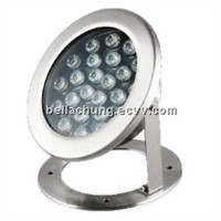 IP68 outdoor LED fountain lighting 24w led underwater light