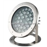 IP68 waterproof DC24V / AC220V high power led underwater lamp 36w