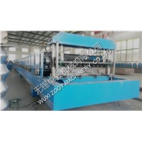 22KW Deck Roll Forming Machine Cold Roll Forming Equipment 0.8-1.6mm Thickness