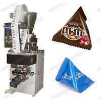 0-100g automatic pyramid/triangle-bag filling and sealing machine