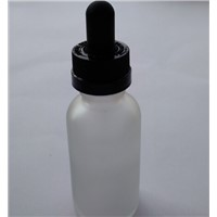 Whoesale Childproof White And Black Cap Bottle 30ml Glass E-cigaret Bottle Glass Dropper Bottle