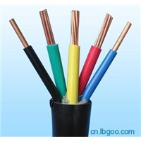 5 cores 0.6/1kv  copper wire conductor  pvc cable