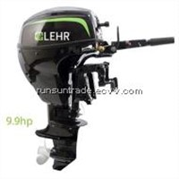 9.9 hp Propane Powered Outboard Engine, Short Shaft