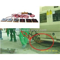 Air bearing skids applications