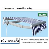 Economic Retractable Awning (manual or remote control)