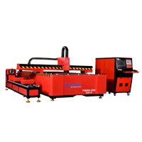 Fiber laser metal pipe cutting machine
