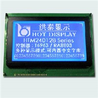 Graphic  LCD  Module  240128   STN-Bule  / negative, and transmissive